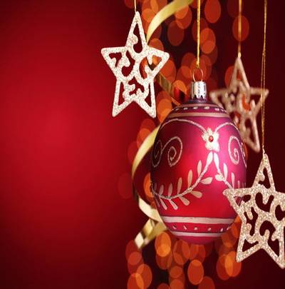 Christmas Red Background