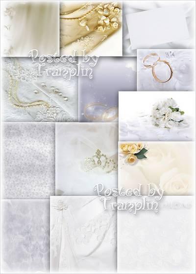 Wedding backgrounds - Tenderness of feelings