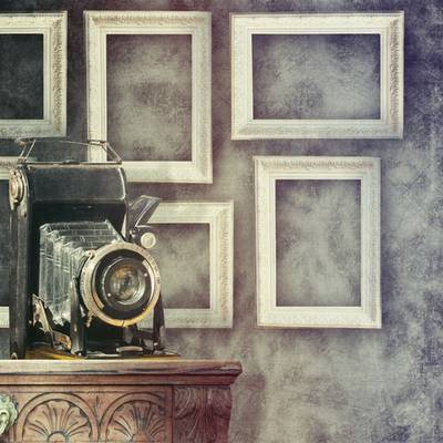 Vintage backgrounds with light filters (HQ)