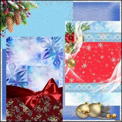 Beautiful New Year backgrounds – the Festive attire