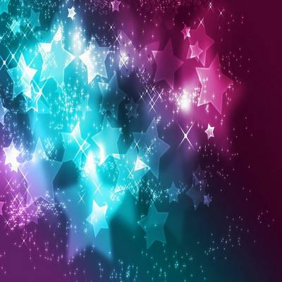 Beautiful backgrounds for your creativity - Hearts, stars, flare