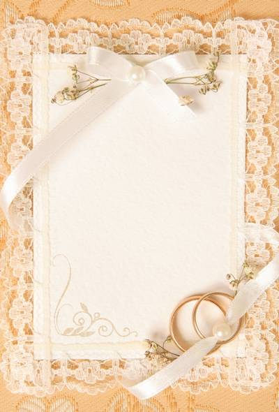 Wedding lace backgrounds