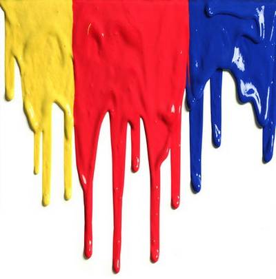 Drips of paint - backgrounds