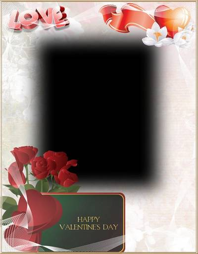 Photoframe - For you darling - Valentine's photo frame psd