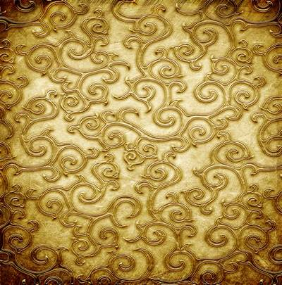 Gold sequins - backgrounds