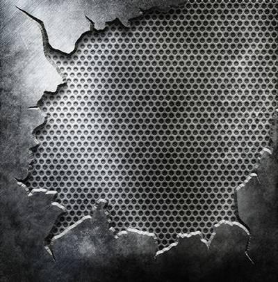 Crack Metal backgrounds Download