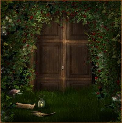 The doors to the fairy tale - backgrounds