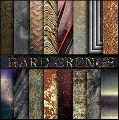 Hard grunge textures overlap - 25 JPEG, 5600x4200 px