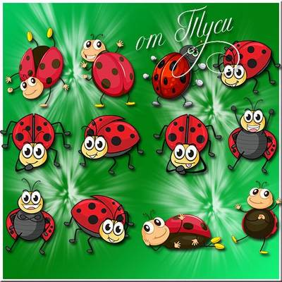Children Toys Free psd file - clip art ladybug download