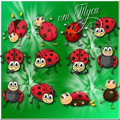 Children Toys Free psd clip art - ladybug