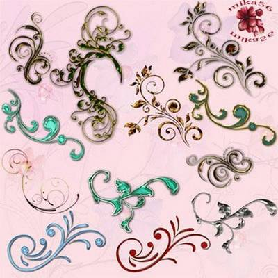 Free Decorative Clipart png - 31 PNG images, 4000х4000 px, transparent background - download