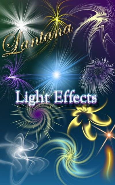 Clipart for Photoshop psd - Light Effects free download
