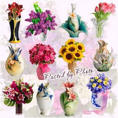 Clipart PNG images Vases, flower vases - 44 PNG images on a transparent background free download