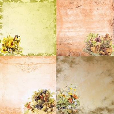 Free Vintage PSD Backgrounds Old garden free download
