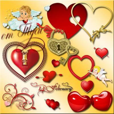 Clipart Heart free psd download