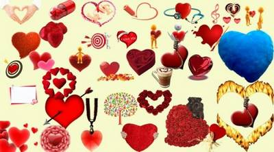Clipart - Hearts - valentine