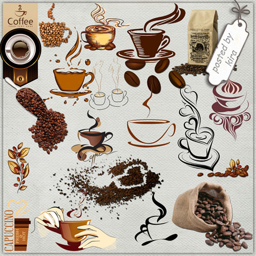 Coffee Clipart free png download - 171 PNG images coffee beans, coffee grinders, coffee makers, mugs, mugs with coffee natural, mugs schematic, coffee labels