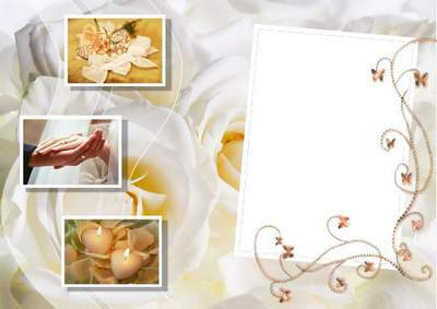 Wedding photoframes - Love forever