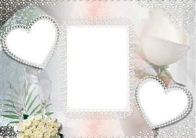 Wedding photoframe - Unforgettable day