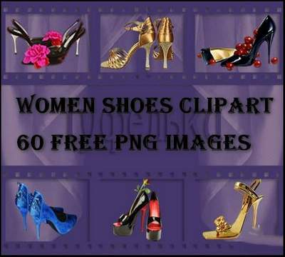 Women Shoes Clipart 60 free PNG images on a transparent background free download