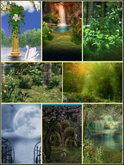 Collage Backgrounds 100 JPG free download