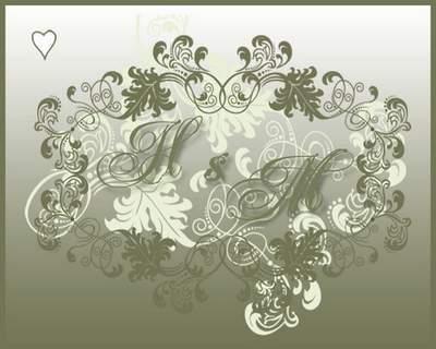 Set Wedding invitation 6 PSD free download