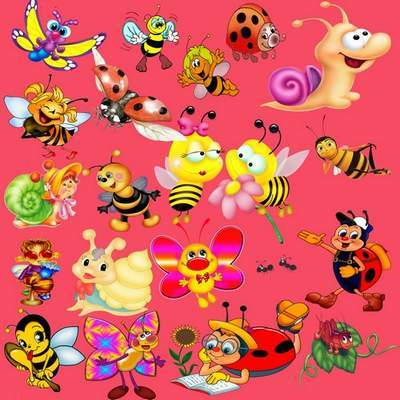 Clipart PSD for Photoshop cartoon characters free download