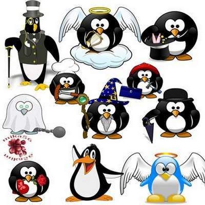 Clip Art - favorite cartoon characters