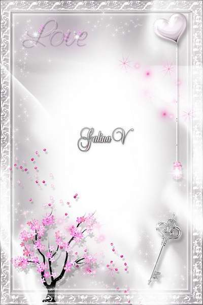 Romantic Photoframe Photoshop photo frame psd png Love and Passion free download