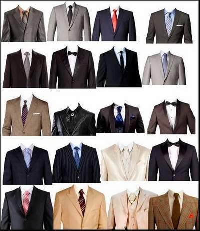 Clothing Clipart psd - men's suits psd for the photo on documents, free download