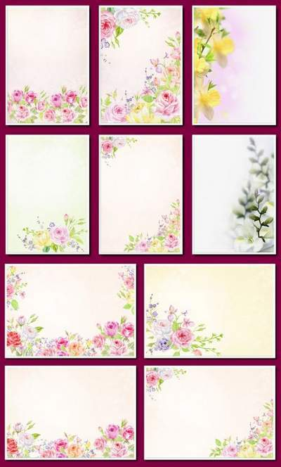 Floral Background PNG - 22 free png flower backgrounds free download