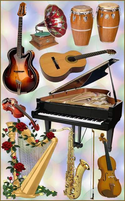 Music Clipart PNG Musical instruments free download