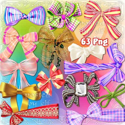 Bows Clip Art PNG - 63 png images Bows free download