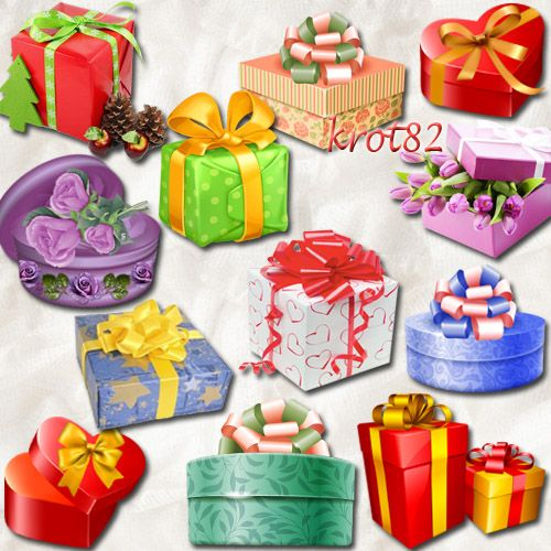 Gifts clipart PNG - 90 png images on a transparent background free download