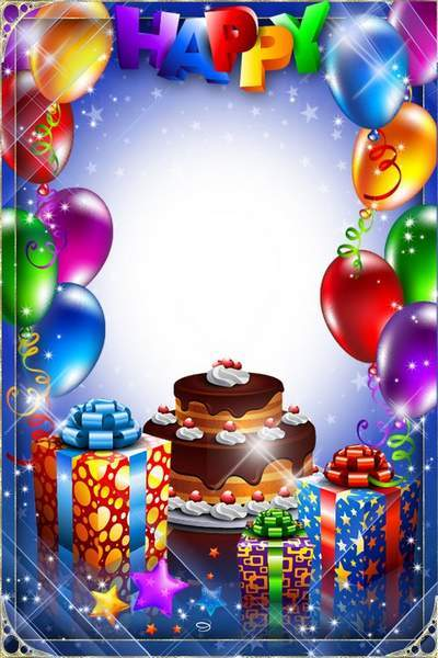 Children frame for photoHappy Birthday free download