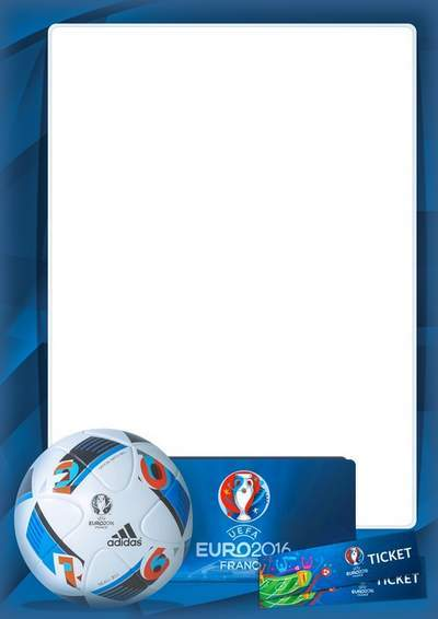 Euro 2016 Football Frame for Men - look Football free download