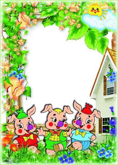 Baby Frames for photos - have fun with cartoon characters free download