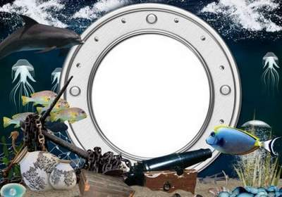 Sea photo frame - Secrets of the Sea free download