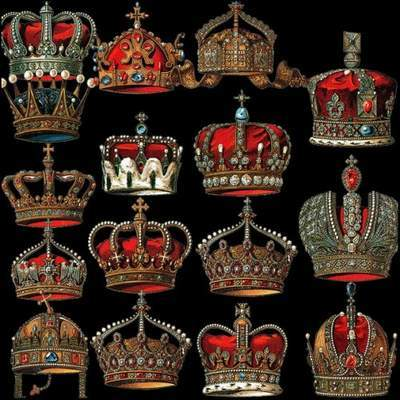 Crown on a transparent background 5 psd files free download