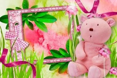 Girl's Frame - Little Princess