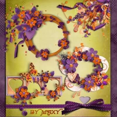 Clusters - Purple Romance