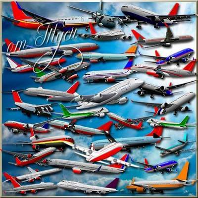 Clipart free PSD Aircraft free download