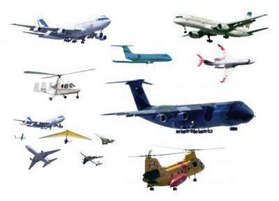 Aircrafts Clipart free PSD and Helicopters Clipart free PSD free download
