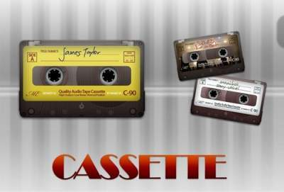 Old Cassette PSD file free download