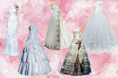 Wedding Clipart PSD Wedding Dress free download