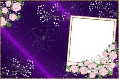 Frame for Photoshop - a wonderful birthday celebration free download