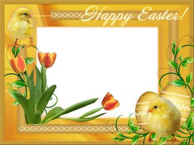 child frame psd happy easter my baby free download transparent