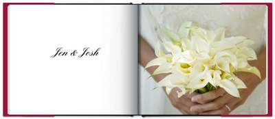 What is a wedding book?