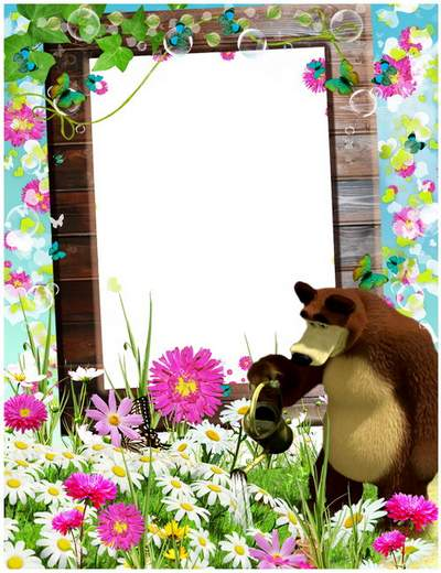 Kid's Photoframe Masha and tricks free download
