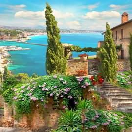 Seascape vertical background download, 33 jpg - 1500 x 2000 px